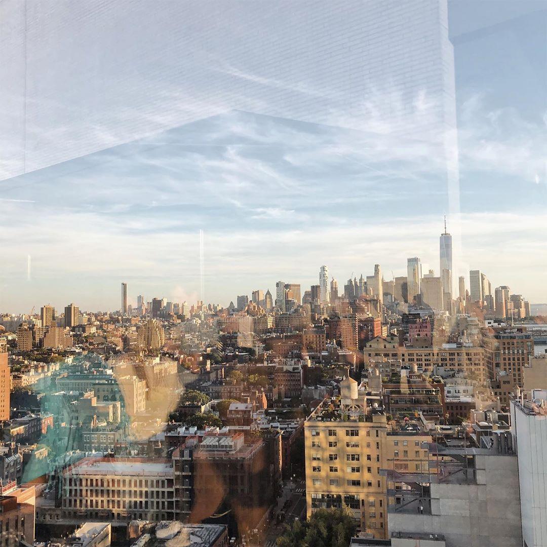 Фото Нью-Йорка из окна