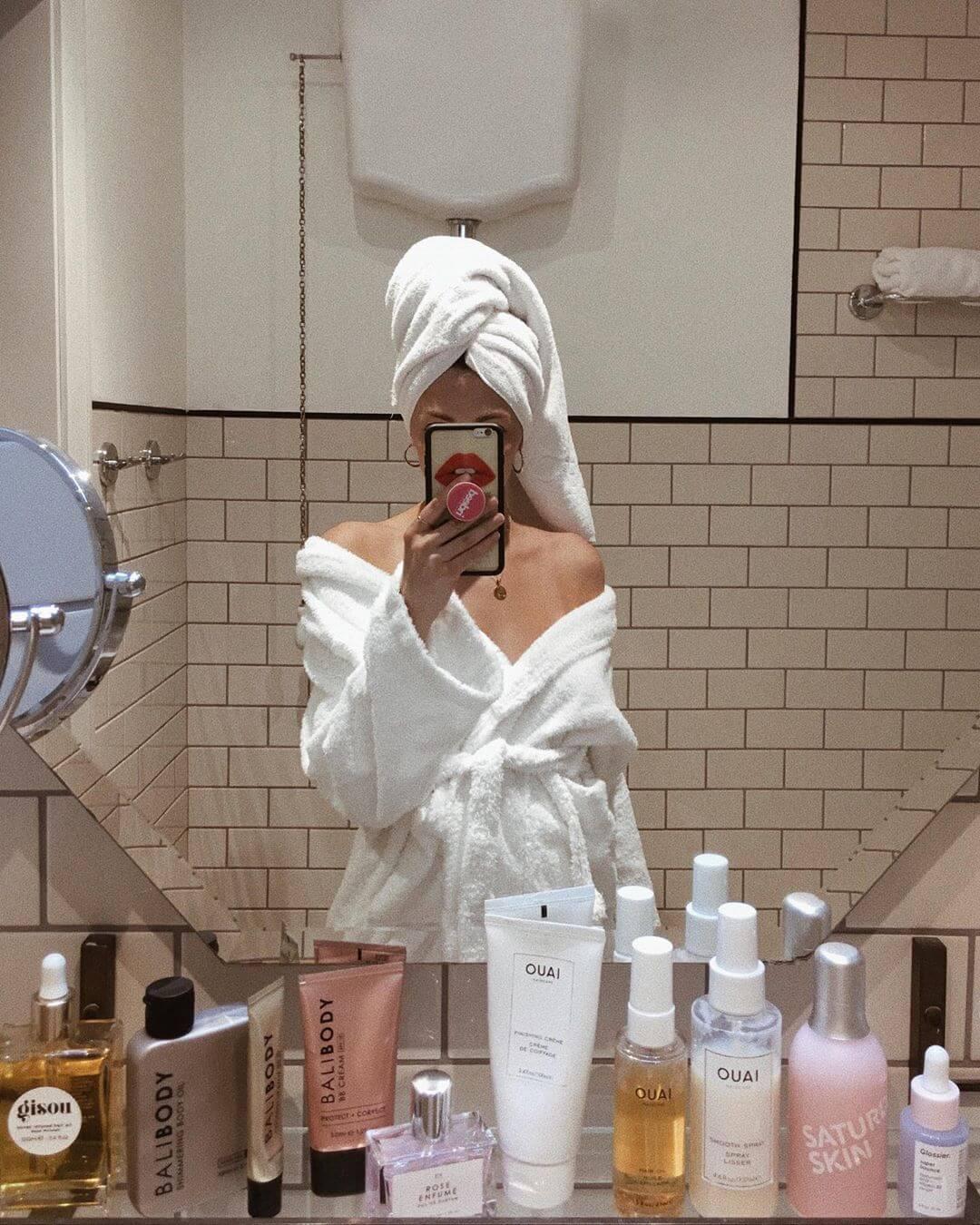 Селфи в зеркало